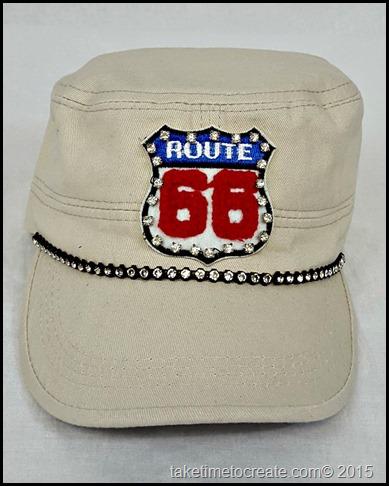 route 66 cadet hat front