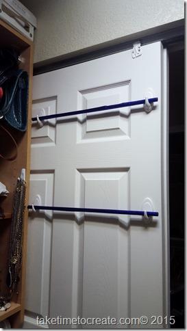 Easy DIY Scarf Holder