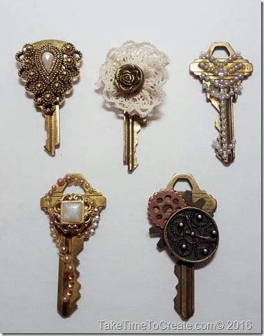 Repurposed old keys