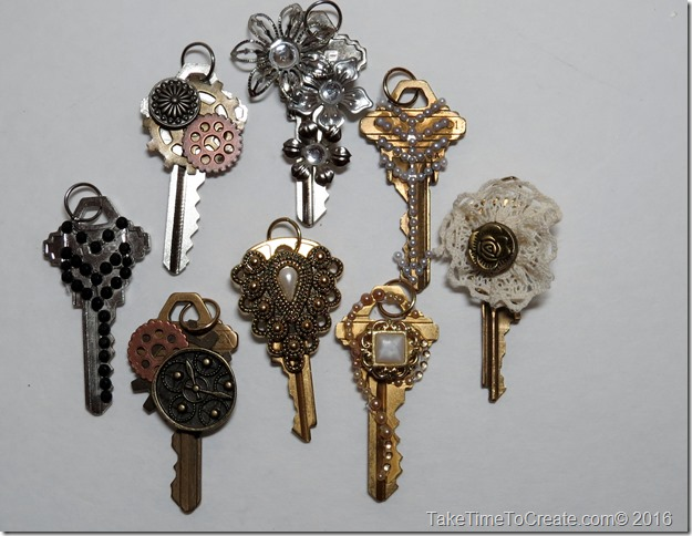 Repurpose old keys