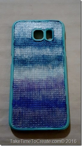 Dollar store cell phone case diy