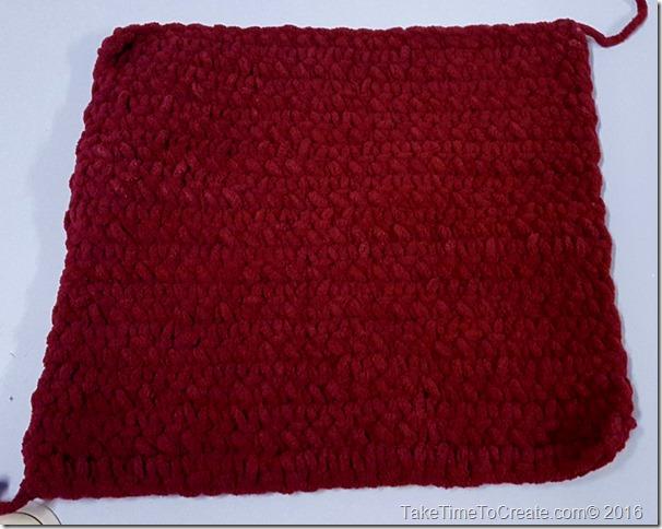 12x12 crochet square