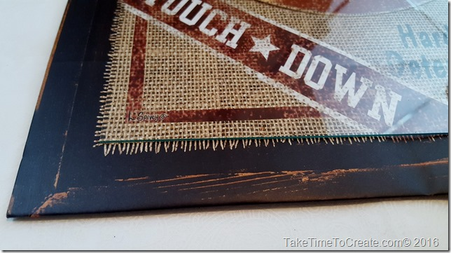 Turn Gift Bags into Wall Art