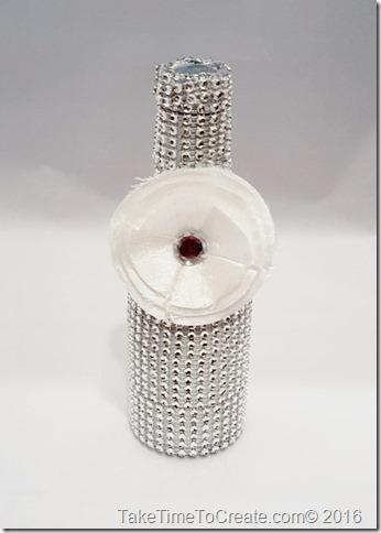 Recycled Glass Vase DIY