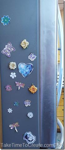 DIY locker magnets