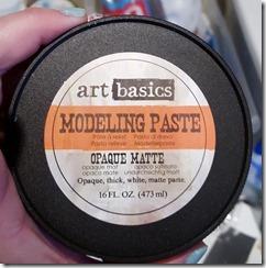 modeling paste