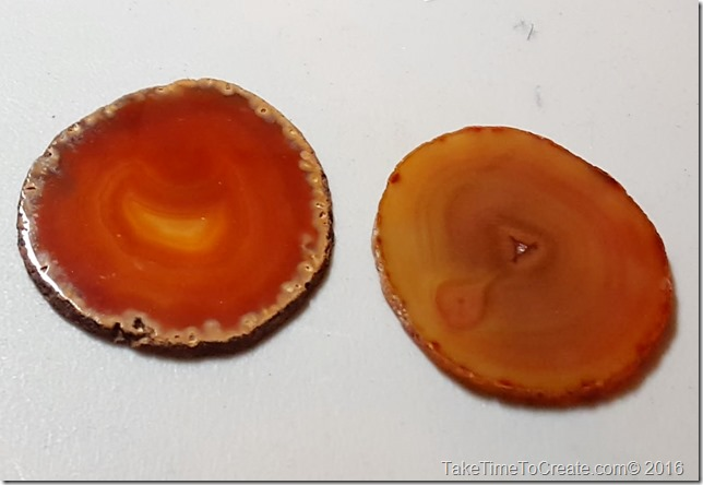 DIY Agate Coaster