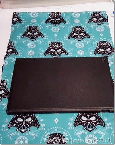 DIY Star Wars No Sew Tablet Cover